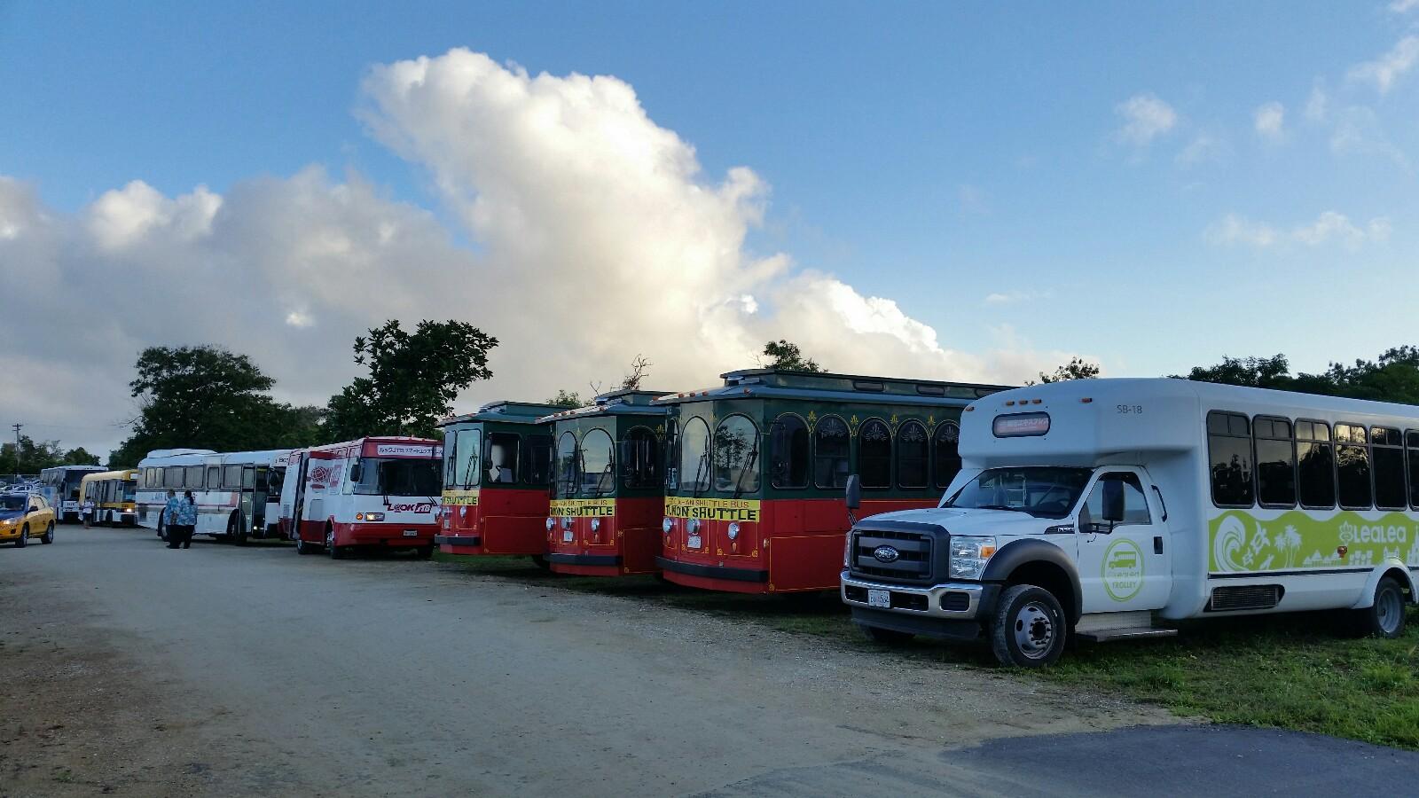 グアム路線バスシャトルバス2017