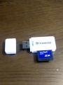 SDカードリーダー「TS-RDF5W」導入(2)