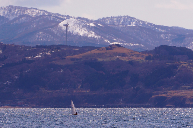 夷王山 ヨット