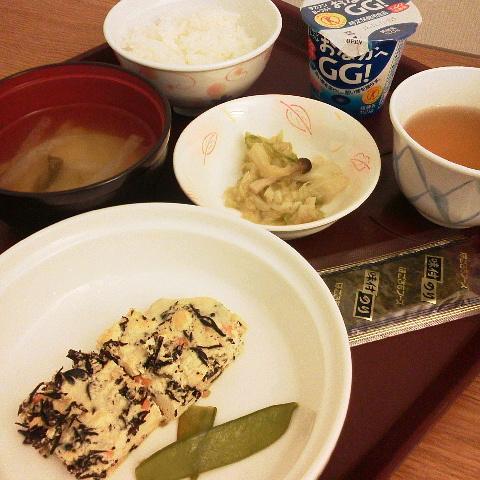2016年10月30日(日) ひじきいっぱいの「擬製豆腐」ちゃん(゚∀゚)ウマウマ