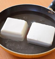 粗切りしょうが豆腐1