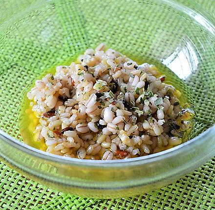 十穀米サラダ