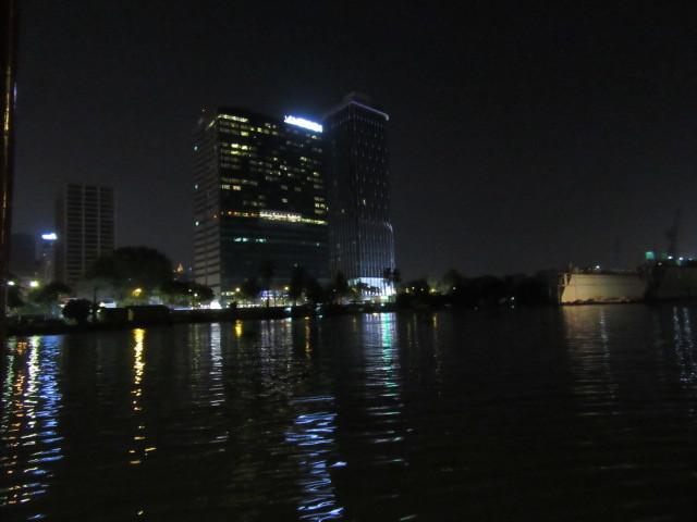 サイゴン川からの夜景