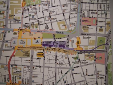 台北駅マップ