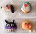 子どもたちが作ったキャラクター和菓子