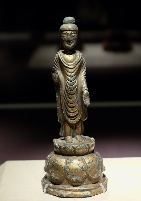 ・006金銅仏立像9C統一新羅