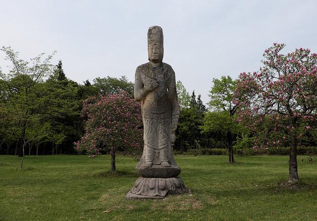 ・008石像観音菩薩立像8C統一新羅慶州狼山