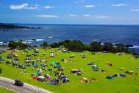 キャンプ場潮岬