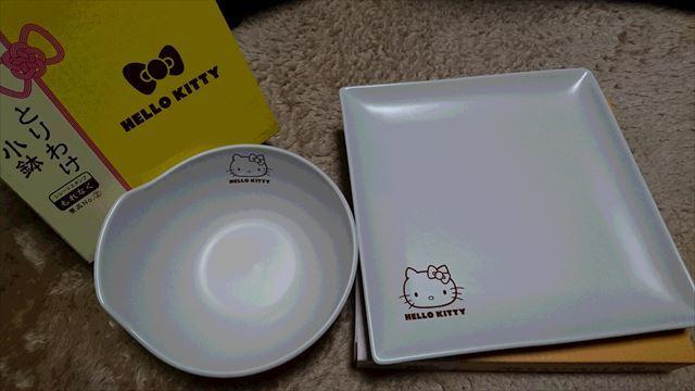 キティちゃんの皿