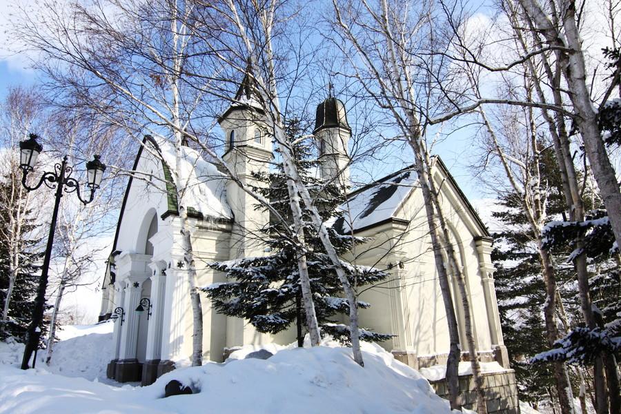 雪の美術館