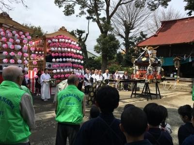 日枝神社奉納試合
