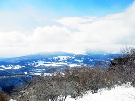 浅間隠山頂上からの展望