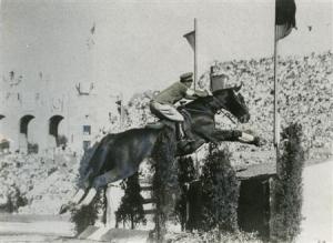 ロサンゼルスオリンピックでの西竹一とウラヌス