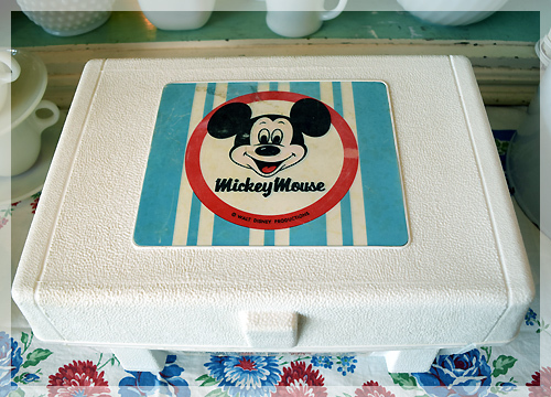 GE・ミッキーマウス・レコードプレイヤー