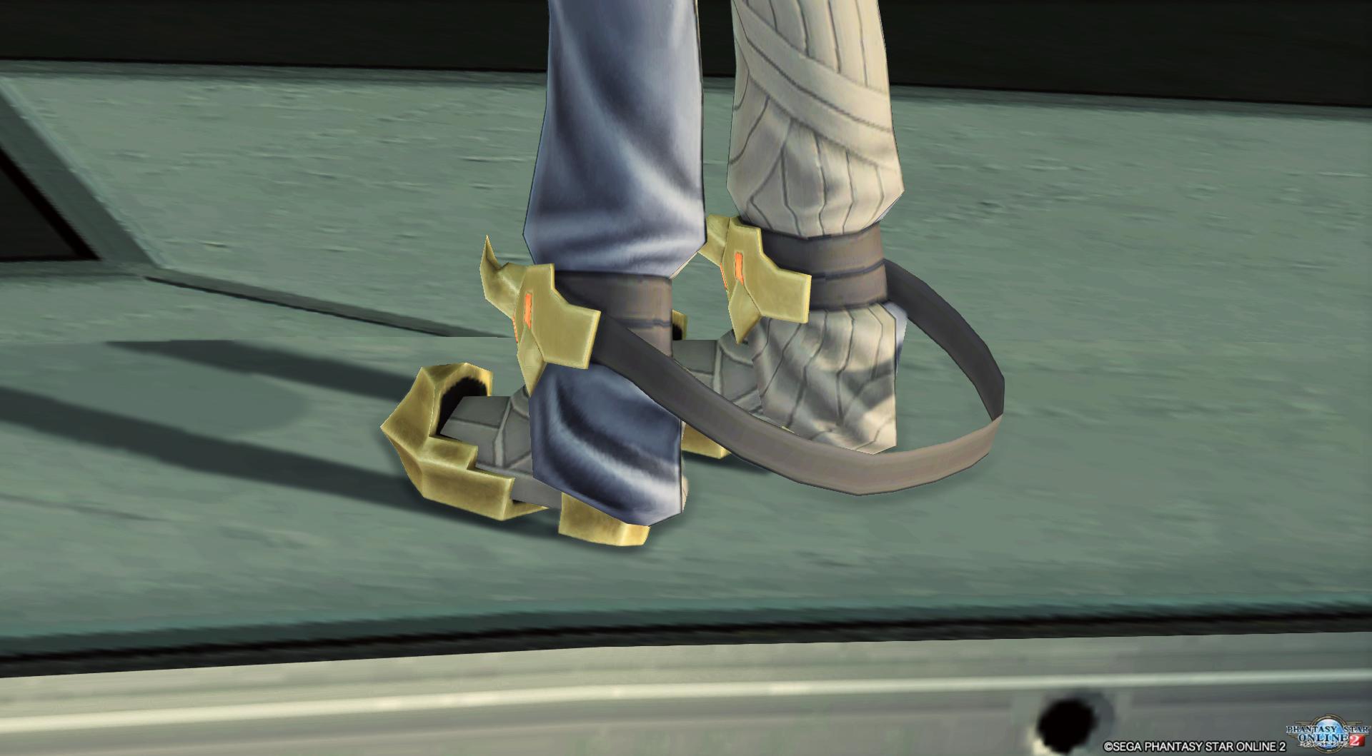三式拘束衣・丑寅F 靴2
