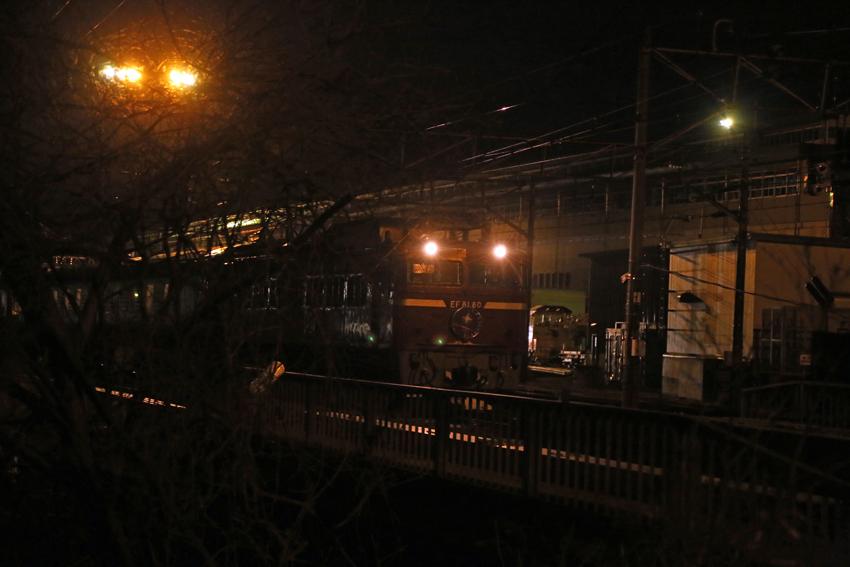 20170220一ノ関駅を出発した上りカシオペア2