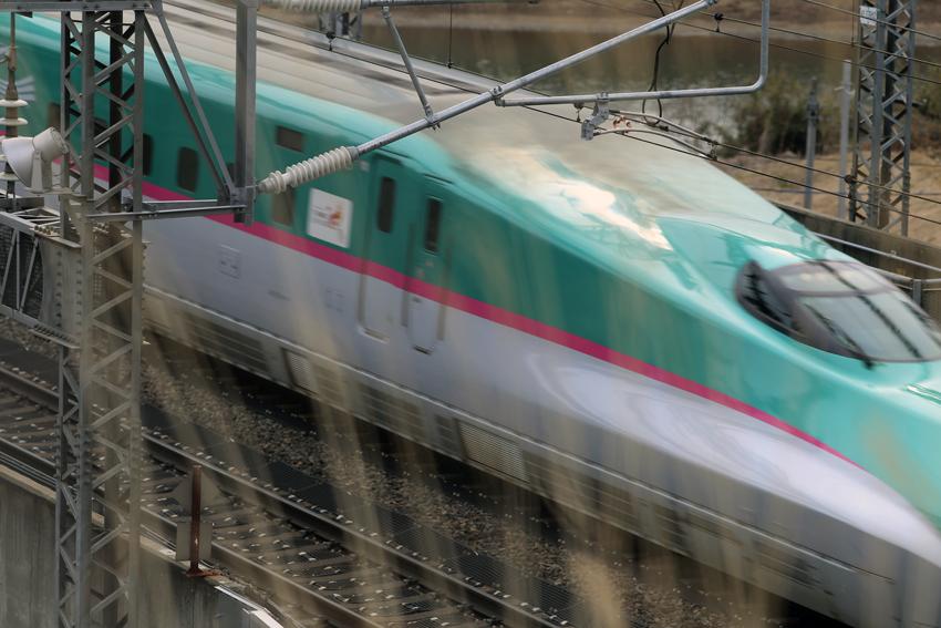 20170222新幹線~一関トンネル手前2