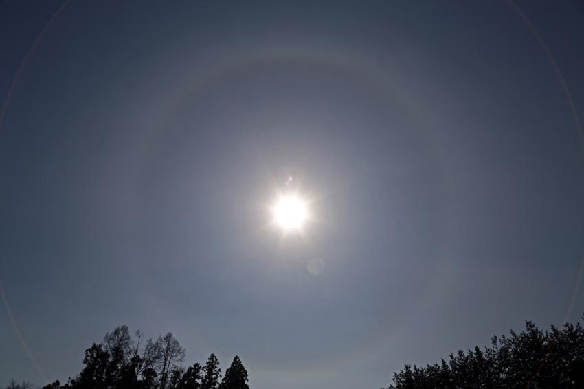 20170301太陽ハロ(日暈)