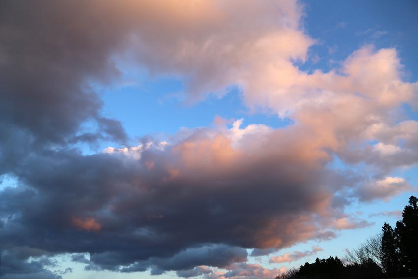 20170303夕焼け雲1