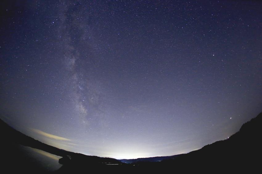 20170506流星群の日の天の川