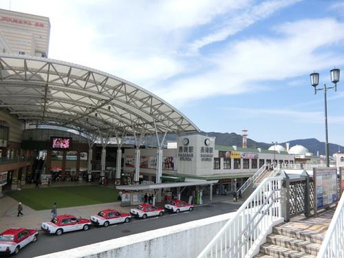 長崎駅で~す!