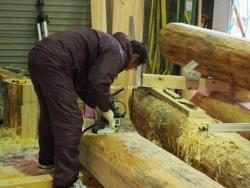 浄土寺木材加工1