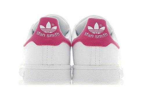 adidas STAN SMITH J ホワイト ピンク