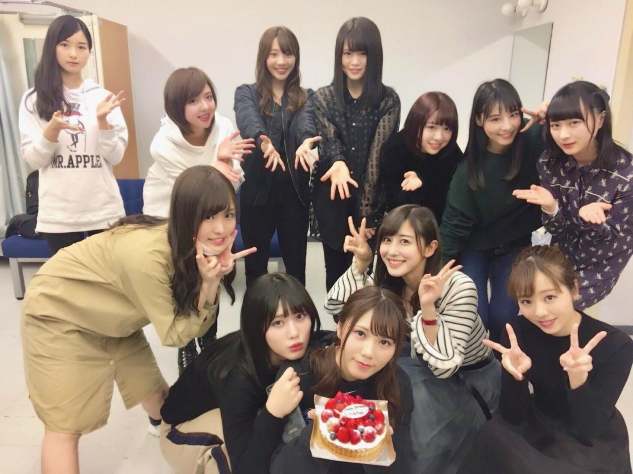 川後陽菜誕生日祝い 佐々木琴子