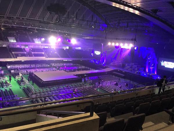 乃木坂46 東京体育館のアリーナ座席表2
