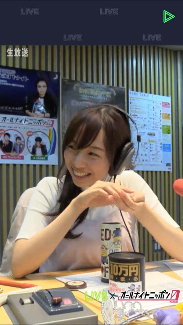 乃木坂46新内眞衣のオールナイトニッポン0