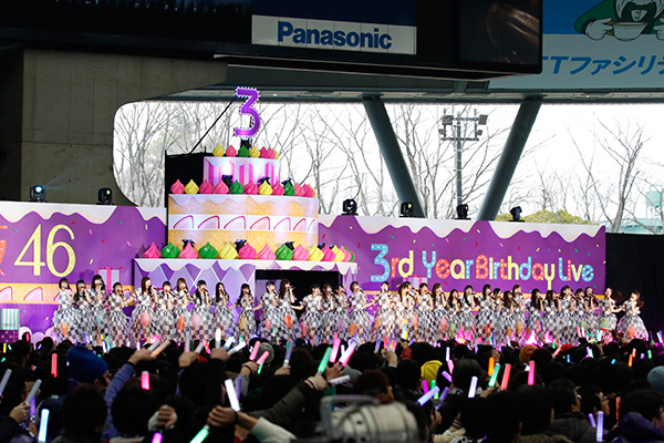 全編放送! M-ON! LIVE 乃木坂46 「乃木坂46 3rd YEAR BIRTHDAY LIVE 2015.2.22 SEIBU DOME」