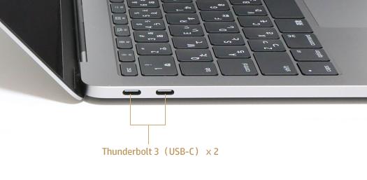 MacBook Pro_左側面インターフェース
