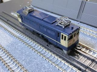 ミニミニレール EF65-1024 国鉄色②