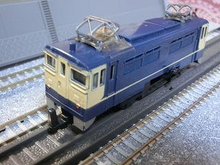 ミニミニレール EF65-1024 国鉄色③