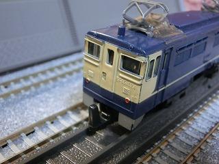 ミニミニレール EF65-1024 国鉄色④