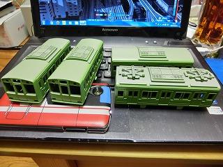 1色目の塗装が終った「千葉ニュータウン鉄道 9000形」