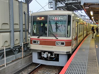 新京成8809F 京成津田沼にて