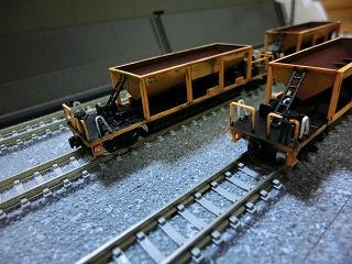 近江鉄道ホキ10形風 ホッパー車④