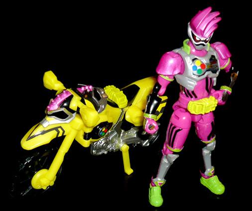 仮面ライダーレーザー バイクゲーマー レベル2(バイクゲーマ)&仮面ライダーエグゼイド アクションゲーマー レベル2