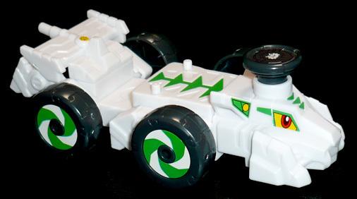 エトボキャボット カットビタイガー レーシングカーモード