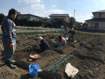 堆肥置き場の屋根まで完了3