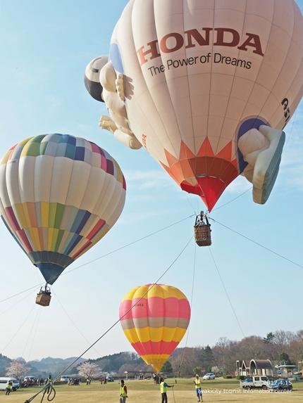 いわきバルーンフェスティバル2017 東日本大震災復興支援 熱気球体験イベント「第20回空を見上げて IN いわき」イベントリポート! [平成29年4月15日(土)開催]6