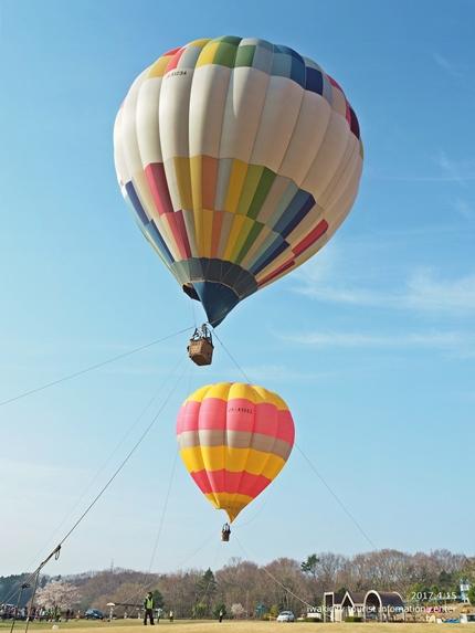 いわきバルーンフェスティバル2017 東日本大震災復興支援 熱気球体験イベント「第20回空を見上げて IN いわき」イベントリポート! [平成29年4月15日(土)開催]4