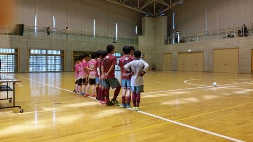 U-12 バーモントカップ 岐阜地区大会 決勝トーナメント。