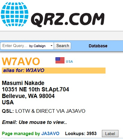 W7AVO_New address