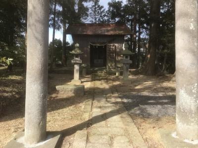 胡四王神社境内