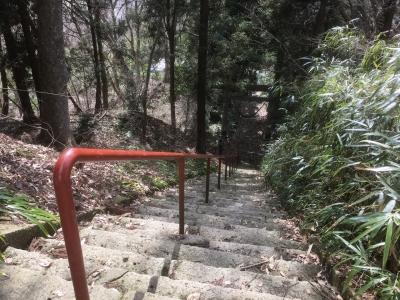 愛宕神社の参道