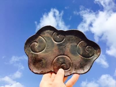 金山焼雲のお皿ファミリー_170316_0044