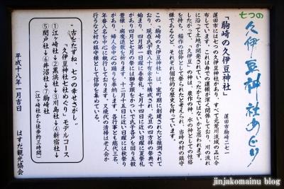 久伊豆神社(蓮田市駒崎)8