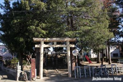 愛宕神社(蓮田市東)1